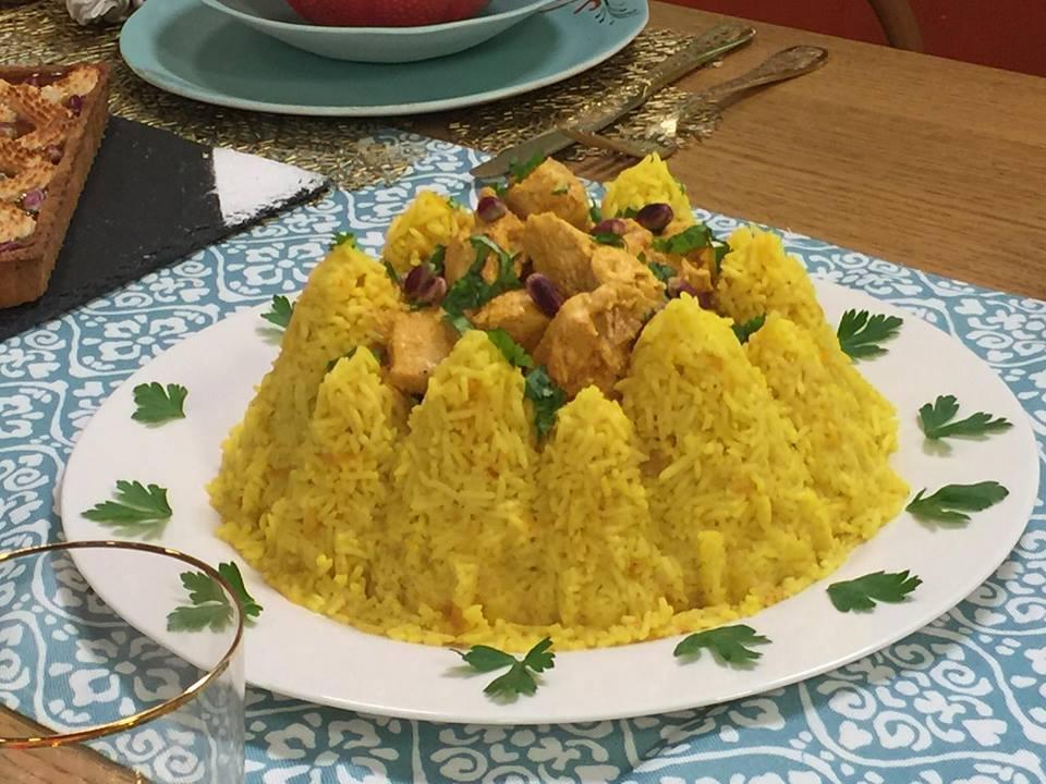 poulet massala , recette indienne