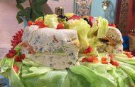 Terrine de dinde aux légumes froide