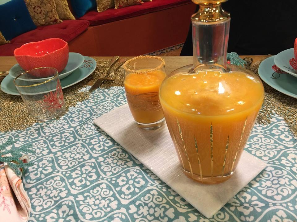 jus d'orange carottes
