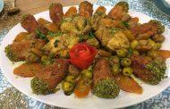 Tajine aux olives au cornet de poulet