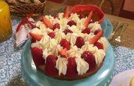 Tarte aux fraises, samira tv