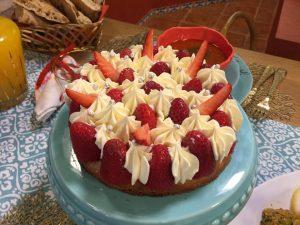 tarte aux fraises samira tv