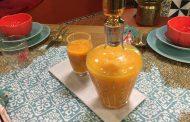 Jus orange carottes à la centrifugeuse