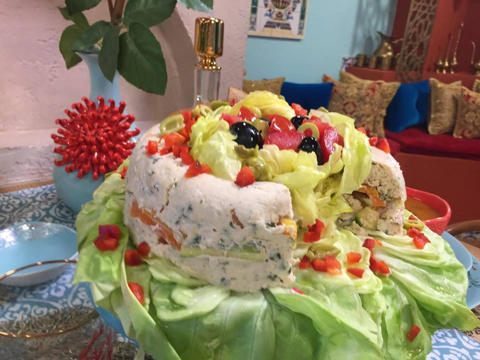 terrine dinde aux  legumes