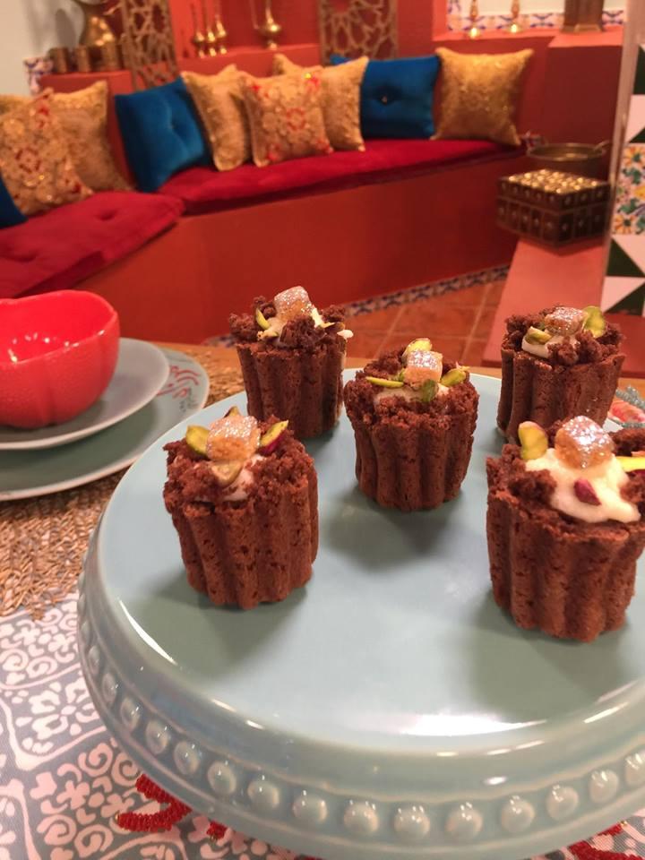 cupcake au chocolat mhalbi