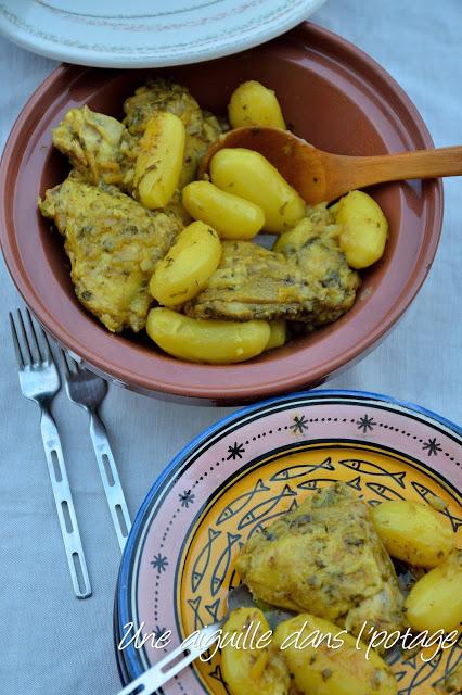 tajine poulet au citron