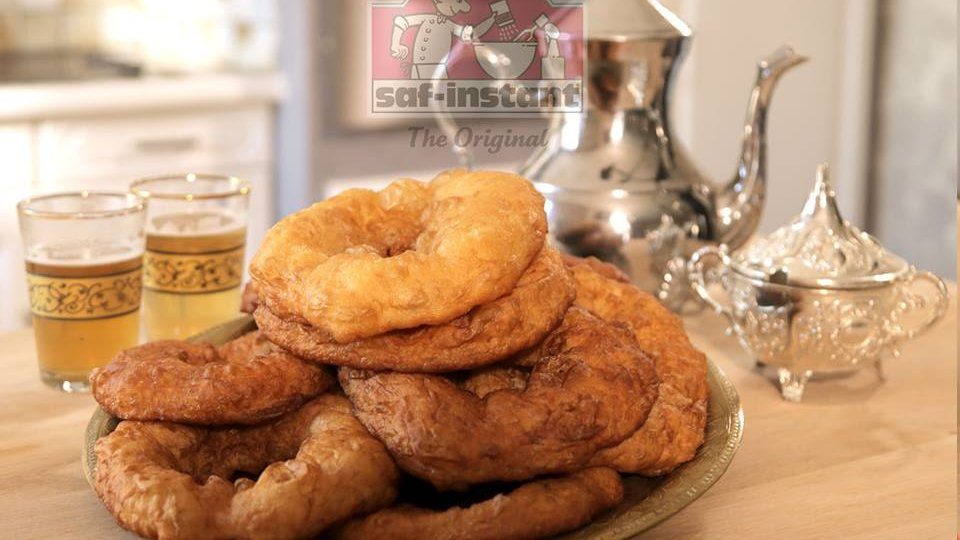 Sfenj algérien: saf-instant