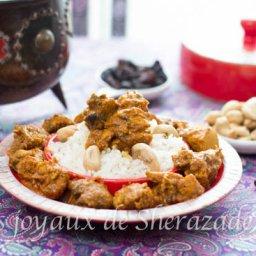 Recette indienne poulet aux noix de cajou