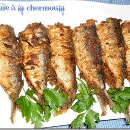 Sardine à la chermoula
