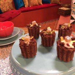 Gâteau au chocolat au mhalbi