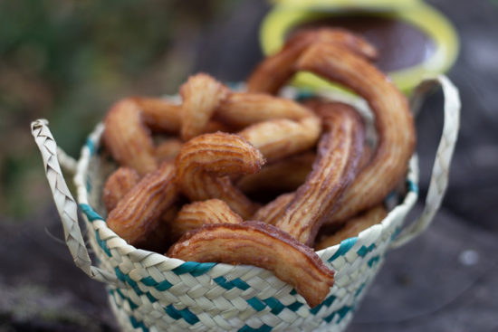 les churros ou chichis sans machine