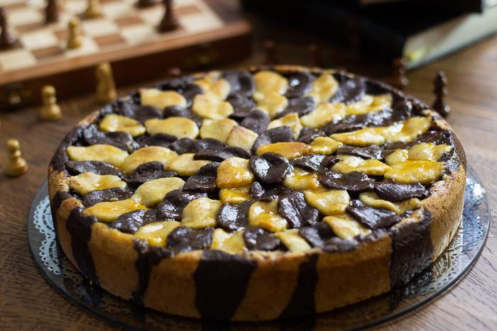 Torta della nonna, tarte Italienne à la crème