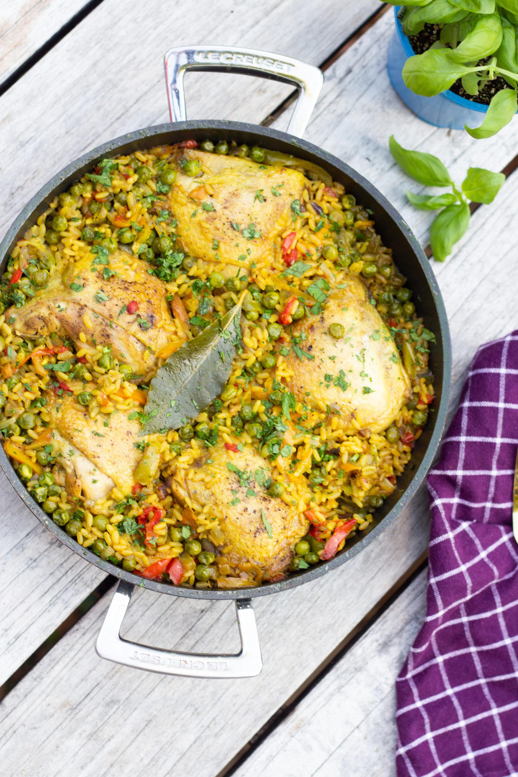 poulet au riz facile