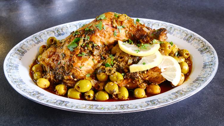 poulet aux olives facile
