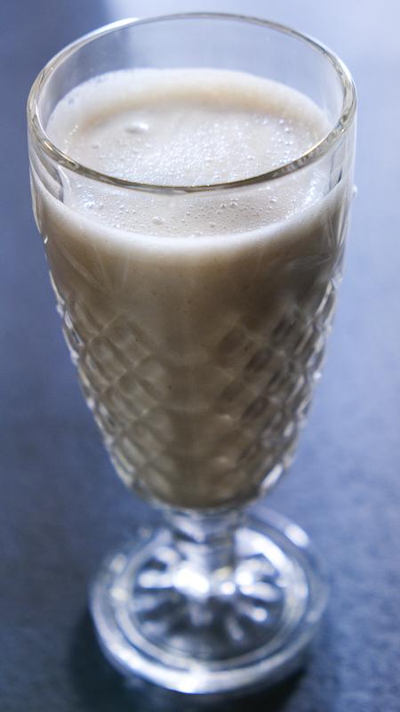 smoothie énergie banane beurre de cacahuète
