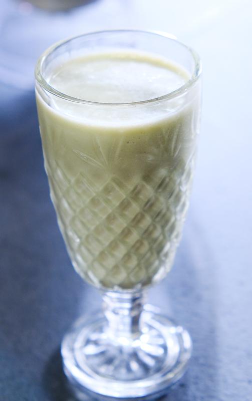 milkshake à l'avocat