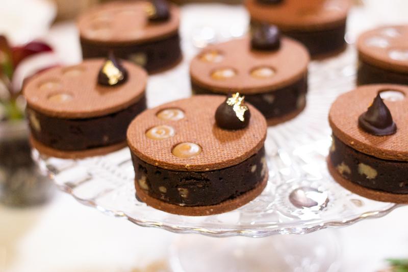 brownies au caramel salé et la ganache